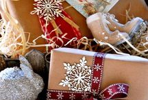 vintage wrapping / by Clarine Baker Ellis