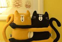 poduszki koty