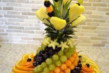 mozaika owoce