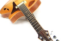 Beautiful vintage instruments / Manly musical instruments that have a special touch of craftsmanship