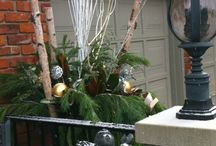 Christmas urns by Francesca Designs / Customize urn decor