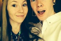 my favourite youtuber and his wife
