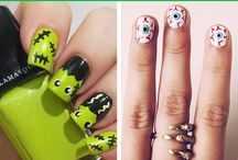Creative Halloween Nail Art Designs
