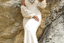 On the rock / Knitted , women's clothing, lace