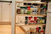 Kitchen organization  / by Lauri Clark