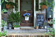 Front Porch/Steps