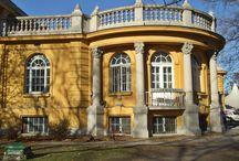 Budapest  Szécshenyi termálvizes  gyógyfürdő / A fürdő télen nyáron üzemel