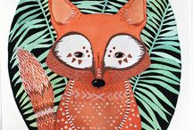 Cards inspiration - Fox / by Caro Espinosa