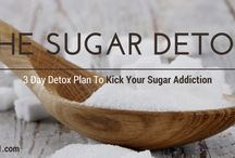 Eat Right and Exercise! / Less sugar, more sweat