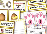 Easter – Teaching Ideas – Bonnets – Food – Decorations – Arts & Crafts for Children / A great selection of Easter resources for the classroom.