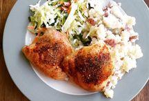 juicy chicken thighs