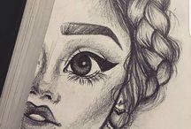 Desene în creion
