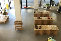 Austere / Photos of our space located on 9th & Hill in Dtla
