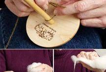 Spinningwheel, yarn