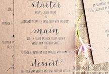 Menu Design Ideas - Design Tasks / Ideas for Devine Bride Design Tasks - Menu Design Inspiration. Fore more services please view www.devinebride.co.uk