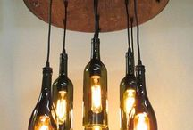лампы,бутылки