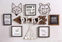 Playroom For All Ages / If you are looking for inspiration for a playroom to cater for multiple ages, here are some great ideas you can re-create.