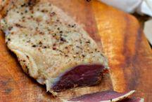 Szynki pasztety mięsa