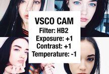 VSCO CAM Filters / Popular VSCO CAM Presets Cheat Sheet