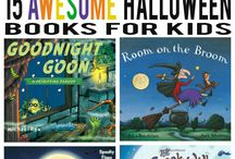 Halloween Reading / Spooky reads and book-related crafts for your perfect Halloween.
