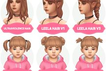 cabelos the sims 4