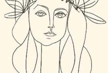 Picasso drawings and paintings