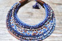 multicolored african yewellery
