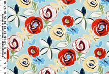Motifs / Patterns mostly floral