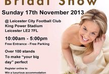The Bridal Show ~ Leicester 17th Nov 2013! Exhibiting Sanjay Foods caterers / The Bridal Show at Leicester City Football Stadium