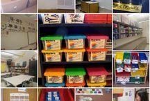 Setting up: the Art Room / teaching English, organisation, efl, esl, art room