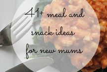 Meals for new mums / Whether you are looking for make-ahead meals for yourself, or as a gift for a friend, meals that are freezer friendly are a must for new parents. www.weanmeister.com.au #weanmeister #baby #storage #freezerpods #babyfood #weaning #toddler #newmum