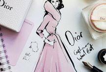 Dream Fashion Sketch