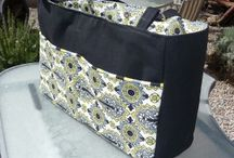 Large sewn bags, difficult