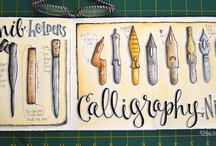 Pen Nibs & Pencil / Avevo sei penne e quattro matite. Due penne si sono perse chissà dove, tre si sono asciugate al sole, una ad un tratto ha smesso di funzionare. Poco male: ho ancora le matite per scarabbocchiare