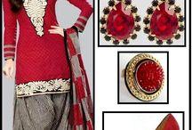 punjabi styleee / Mehndi,saris n lehngas oh my! Nthng more b'fulll thn our desi traditions...:)