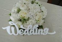 Свадьба в вилле Блед Анны и Ивана / Свадьба в белых и айвори тонах в дождливый, но прекрасный, день на вилле Блед
