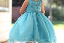 Suknia dziewczynka