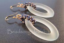 Beading - inspiration - earrings