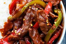 Recipe Beef slices with Red Chillies
