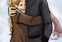 Celaena and Chaol <3