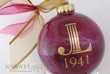 Junior League Glass Ornament