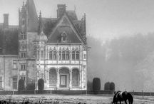 Gothic  /  Victorian / abandoned /  Art Nouveau / creepy homes , Interiors , furniture and design