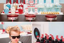 50's Party / Inspired by happy days and Al's diner