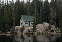 cabins / by Dominique Chew