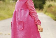 Knit kids clothes...