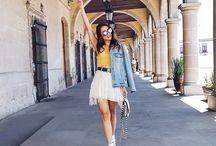 look casuales con faldas
