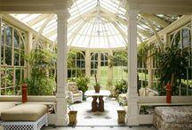 Atriums glasshouses
