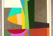 Frederick Hammersley / Abstract Classicist painting is hard-edged painting. Forms are finite, flat, rimmed by a hard clean edge. These forms are not intended to evoke in the spectator any recollections of specific shapes he may have encountered in some other connection. They are autonomous shapes, sufficient unto themselves as shapes.