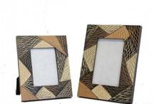 Wooden Photo Frames / Wooden Photo frame , Mango wood , Teak wood , Handcraft from Thailand