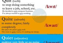Confusing words / Английские слова, которые легко перепутать. Сравнение в контексте.